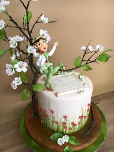 Garden Pixie Birthday Cake