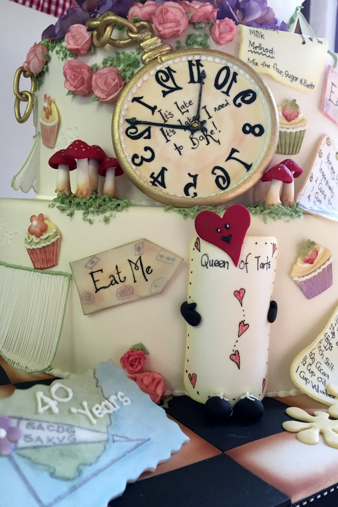 Bakers in Wonderland Cake